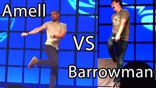 Une autre blague de John sur Stephen Amell pendant le tournage d'Arrow (Phoenix Comicon 2014)