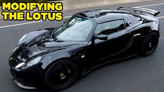 Modifying the LOTUS // LET THE MODS BEGIN (Epic Supercharger Sounds!!)