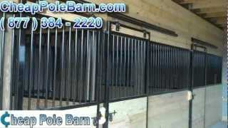 Cheap Pole Barn Reviews | Horse Barns | Ann Masly Testimonial | Metal Building | New Jersey