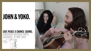 JOHN LENNON – GIVE PEACE A CHANCE –  DEMO