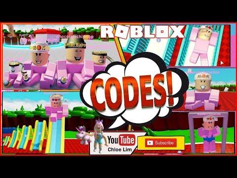 Roblox Gameplay Baby Simulator 5 Codes Wee Wee Wee Wee Wee