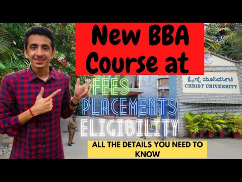 BBA Decision Science Course at Christ University, Bangalore | All ...