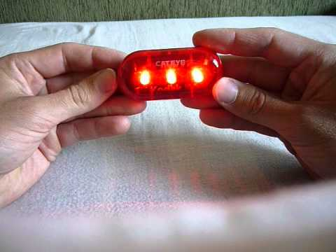 CATEYE TL-LD 130 Bicycle Tail Light 3-mode