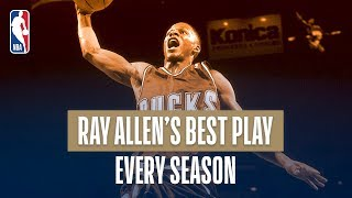 Ray Allen's Best Play From Every Season In His Career