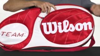 Wilson Team 6-Pack Tennis Bag video