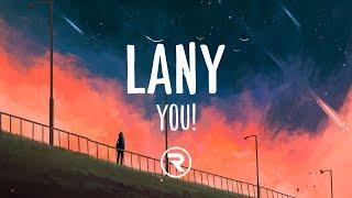 LANY - you! (Lyrics)