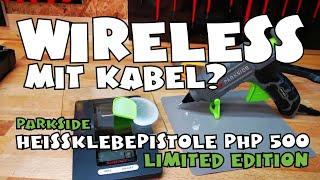 Kabellos: Heissklebepistole PHP 500 E3 Limited Edition von Lidl PARKSIDE®