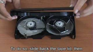 How to fix / repair a VHS Tape
