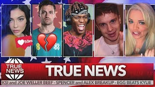 KSI vs Weller feud returns, Spencer & Alex split, Trisha Paytas controversy