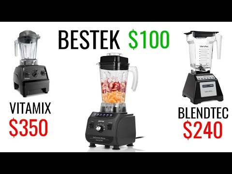 How well does a $99 blender compare to the Blendtec or Vitamix blenders? – Bestek review