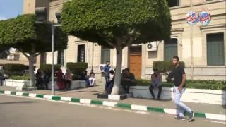 اغاني طرب MP3 هدوء تام داخل حرم جامعة القاهرة في أول يوم دراسة تحميل MP3