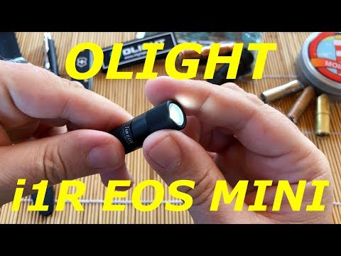 🚨 Klein aber Oho! 🔦 Olight i1R EOS Mini Schlüsselbund Taschenlampe ‼️