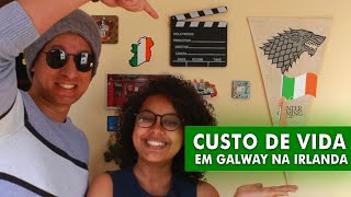 TUDO SOBRE INTERCÂMBIO EM GALWAY NA IRLANDA | Custo De Vida, Emprego, Alugando Uma Casa