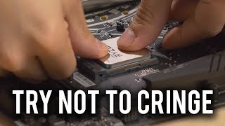 How NOT to build a PC!