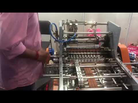 Fully Automatic Envelope Making Machine