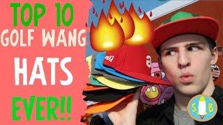 TOP 10 GOLF HATS EVER!!🧢🔥