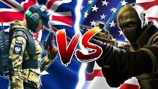 AUS vs USA in Rainbow Six Siege
