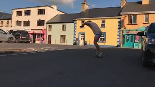 Guy cruising in Lahinch, Ireland