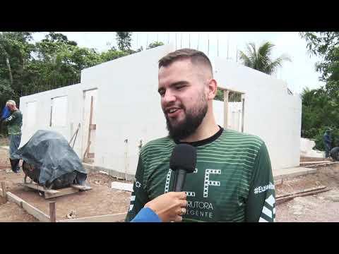 Construção civil apresenta novas técnicas construtiva em Guarantã do Norte