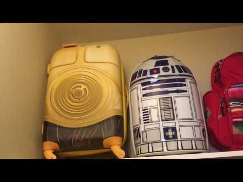 C3PO American Tourister Star Wars Luggage Review & Test