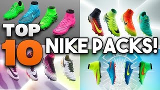 Top 10 Nike Football Boots Packs of ALL TIME!!