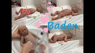 neues Baby | erstes Bad | Silikon Baby