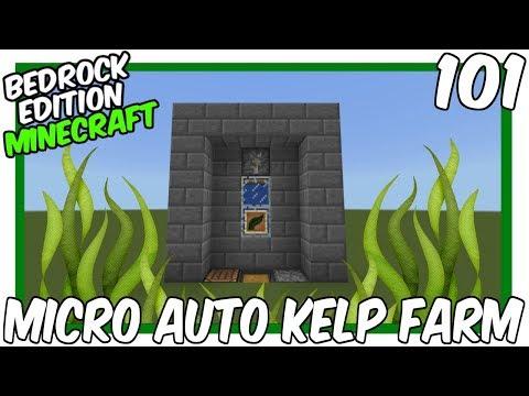 Micro Automatic Kelp Farm Minecraft Project