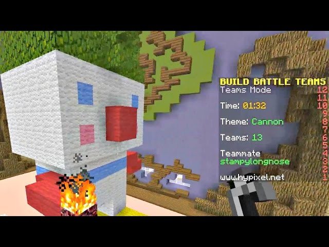 Server Surfing : Hypixel - Clowns and Catapults