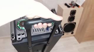 Портативная колонка мощная Trolly Speaker или Jerry Power Q-210