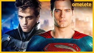 SUPERMAN HENRY CAVILL E BATMAN PATTINSON JUNTOS! ENTENDA #FiqueEmCasa#Comigo