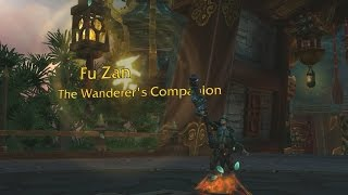 The Story of Fu Zan, the Wanderer's Companion [Artifact Lore]