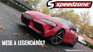 Speedzone teszt: Toyota Supra (2019): Mese a legendáról?