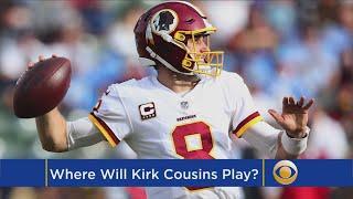 Where Will Kirk Cousins Play Next Season?