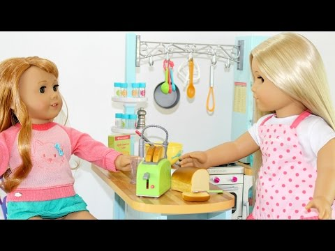 Doll Gourmet Kitchen | American Girl Doll Review