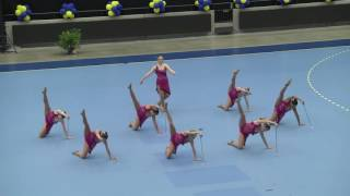 2016 World Baton Twirling Championships - Team Canada (fourth place)