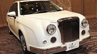 光岡自動車、新型車「リューギ」=クラシカルな中型セダン、初のハイブリッド車も