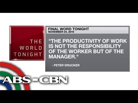 [ABS-CBN]  Final Word – November 24, 2019 | ANC