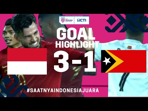HIGHLIGHT GOAL INDONESIA VS TIMOR LESTE