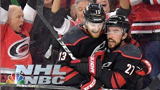 NHL Stanley Cup Playoffs 2019: Islanders vs. Hurricanes   Game 3 Highlights   NBC Sports