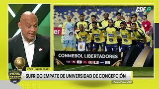 ¡Universidad De Concepción Lidera Su Grupo En La Copa Libertadores!