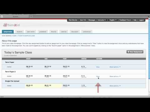 Tutorial Turnitin – Lecturers – Submitting a Single Paper