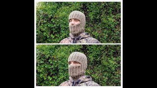 How To Crochet Ski Mask | Unisex Ribbed Beanie | Bagoday Crochet Tutorial #427