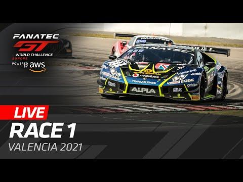 ブランパンGT 2021 バレンシア GT レース1のライブ配信動画