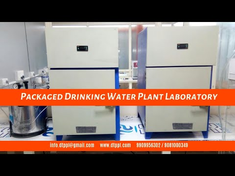 ISI Approved Laboratory for Packaged Drinking Water Plant