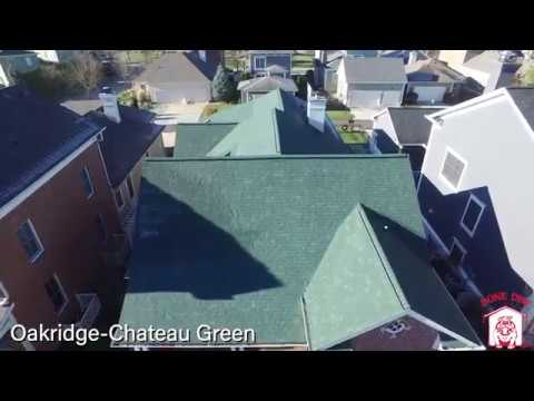 Make your home stand out with our many options of Owens Corning Shingles. Check out this stunning green roof by Bone Dry Roofing!
