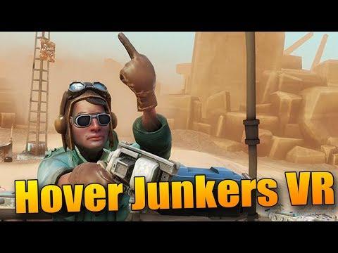 Střílečka ve zničeném světě! - Hover Junkers VR