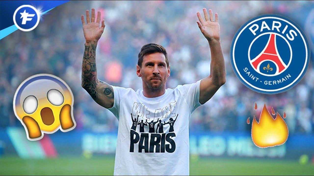 La présentation de Lionel Messi au PSG fait le tour de l'Europe   Revue de presse