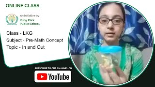 LKG | In and Out | Pre-math Concept | Concept of In & Out | Easy to Learn | Ruby Park Public School Thumbnail