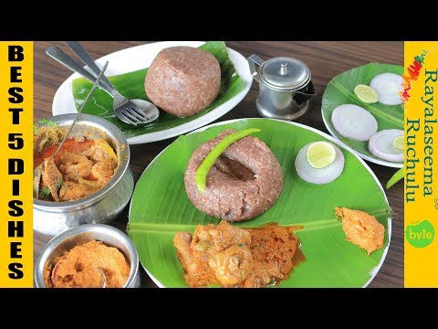 Rayalaseema Ruchulu | Best 5 Dishes | Best South Indian Buffet in Hyderabad indian food