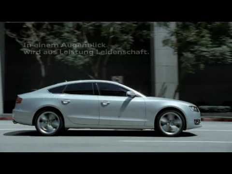 Audi A5 Sportback (official movie) HQ